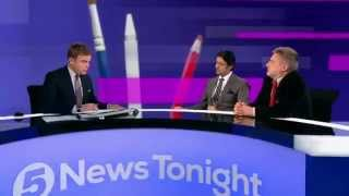 Channel 5: Ahmadiyya rep Khail Yousuf on Charlie Hebdo cartoons