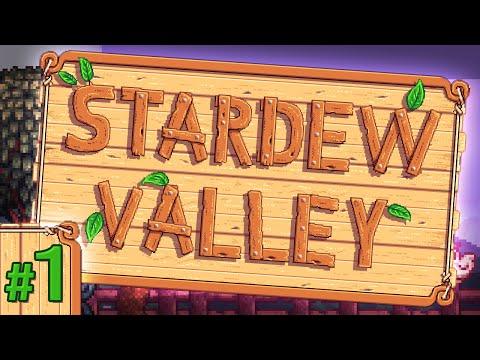 Stardew Valley #1- Getting Started
