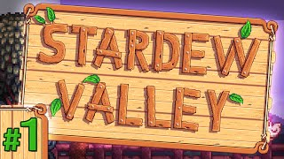 Stardew Valley #1- Getting Started