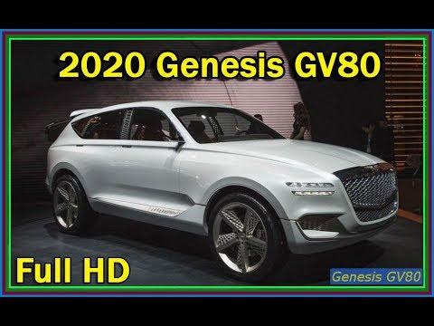 제네시스 GV80 2020 - 2020 Hyundai Genesis GV80 SUV Concept Review