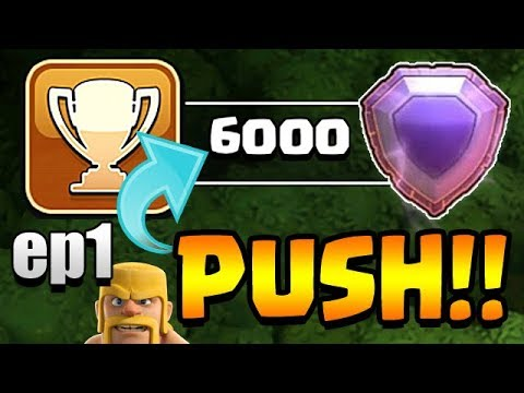 TH11 TROPHY PUSH to TOP 200 ep1 | Clash of Clans
