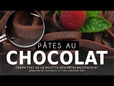 CRASH TEST : Pâtes au chocolat