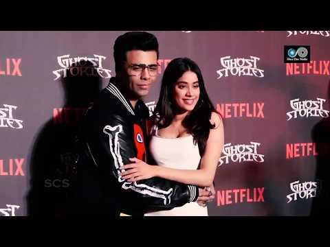 Karan Johar Tight Hug To Jahanvee kappor On Media Camera || Bollywood updates