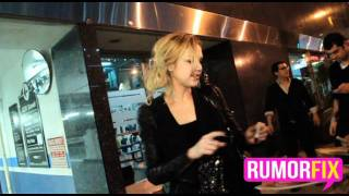 Exclusive: Arielle Kebbel on Rihanna back with Chris Brown?