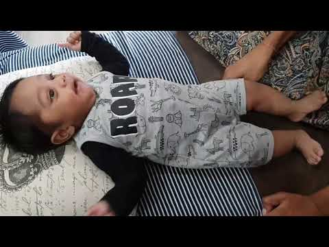 Adorable Durban Baby, 8 weeks old says Hello! Must See!! Cutest Baby Talk! SA Got Talent!