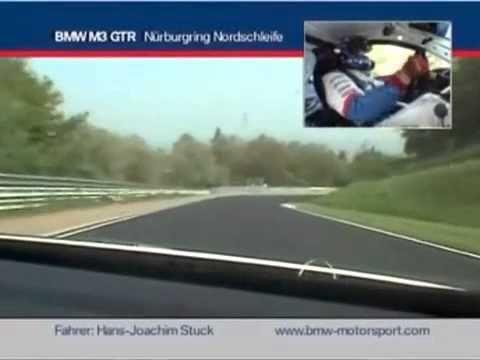 BMW M3 GTR Nurburgring Hans Joachim Stuck