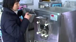 Máy làm kem cứng - Máy kem cứng. http://hoangtung.vn