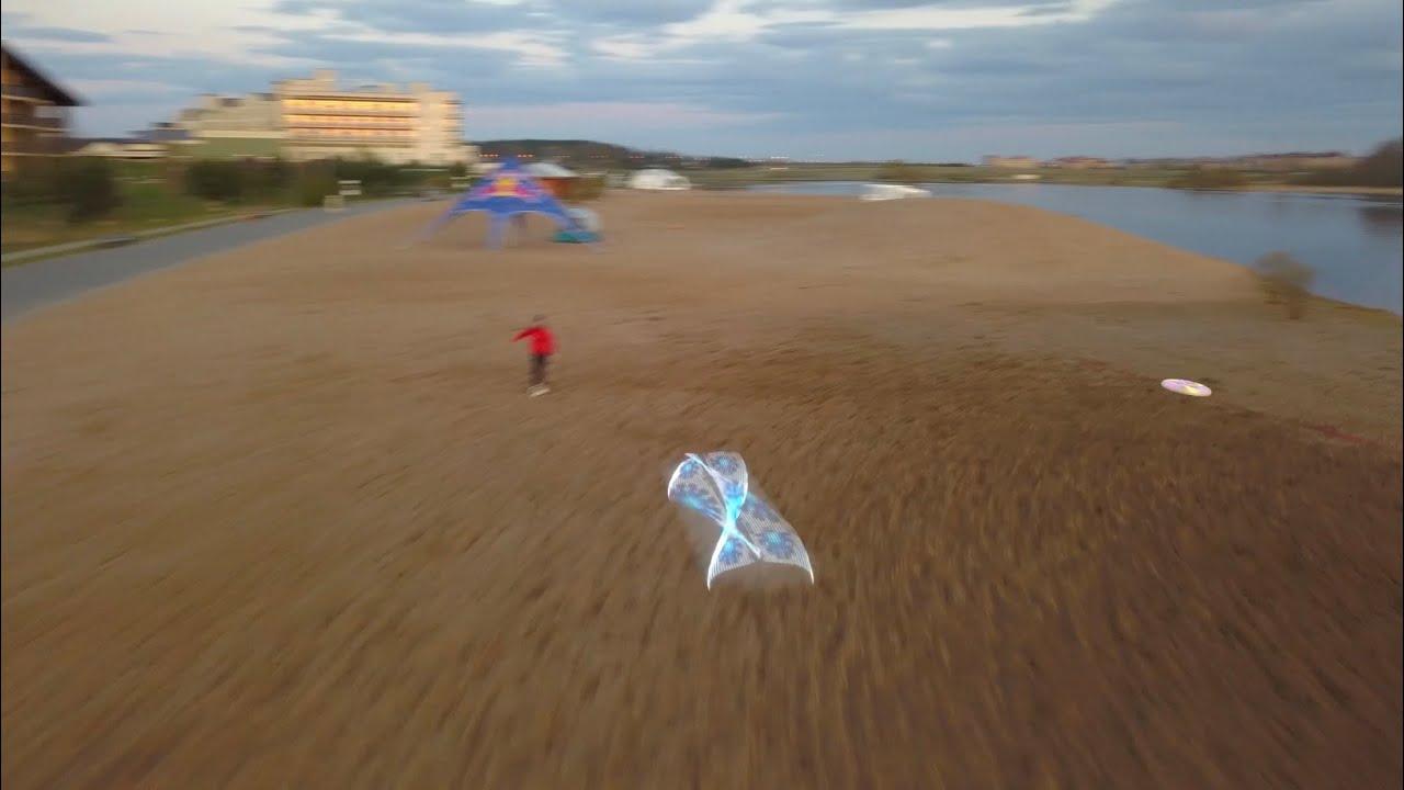 Ignis Pixel LED Flying Disc for Ultimate Frisbee sports - Flying Test
