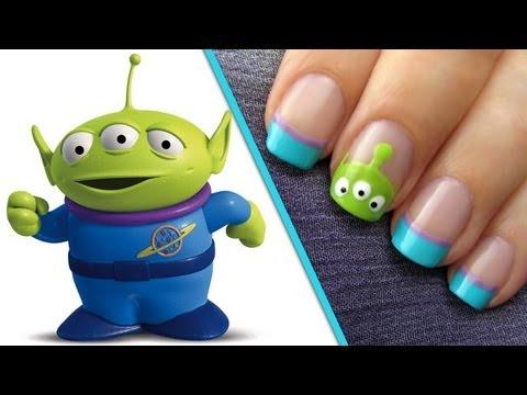 Toy Story Alien Nail Art Tutorial Cutepolish Disney Style Youtube
