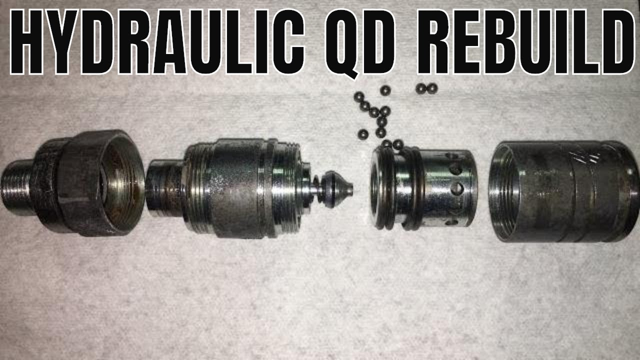 HOW TO DISASSEMBLE HYDRAULIC COUPLER OR QUICK DISCONNECT