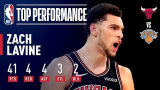 Zach LaVine Records NEW Career High 41 Points! | November 5, 2018