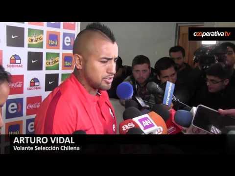 Arturo Vidal: Mostramos la personalidad necesaria para clasificar al Mundial