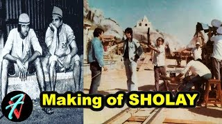 The Making of All Time Hit Film SHOLAY | Sholay Behind the Scenes | Amitabh Bachchan | Dharmendra