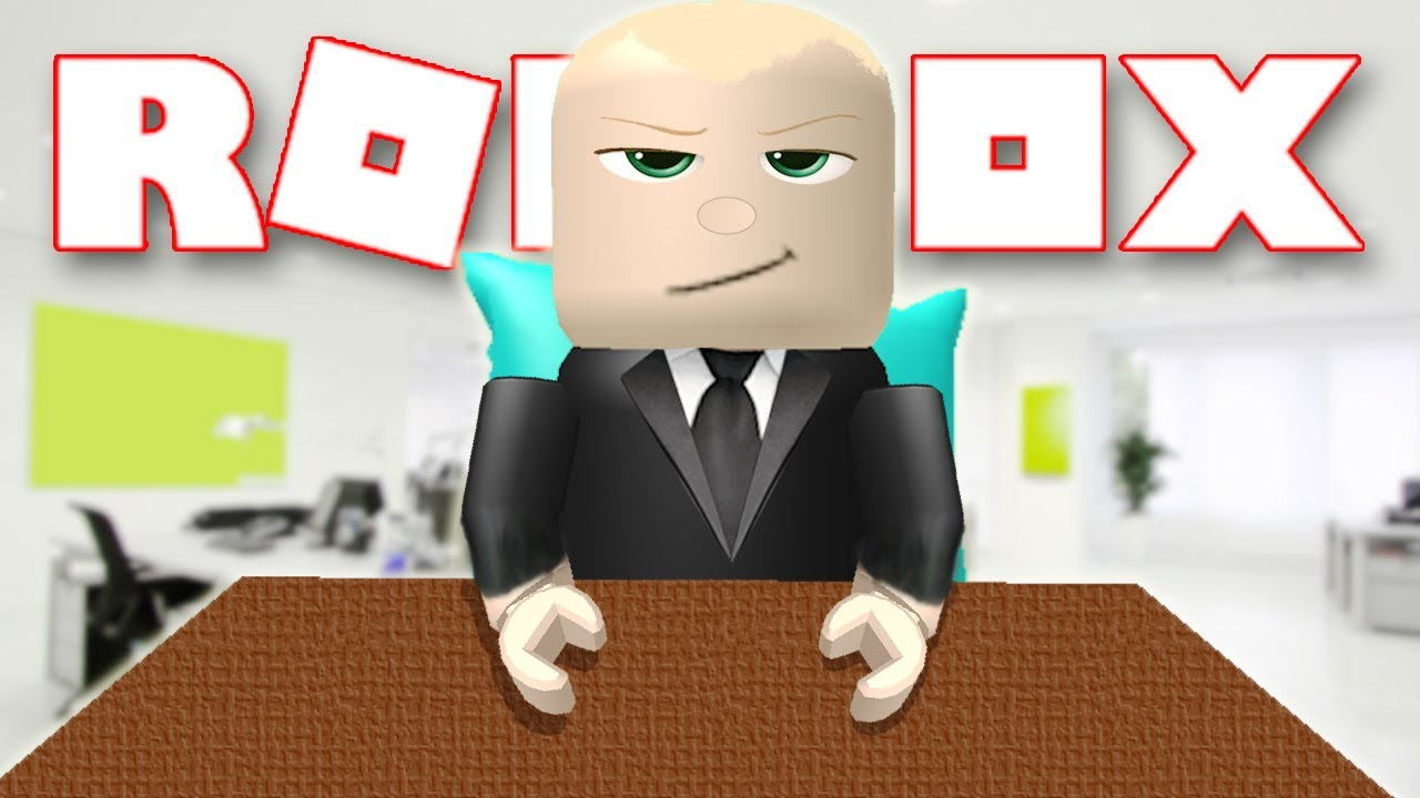 BOSS BABY IN ROBLOX! - YouTube