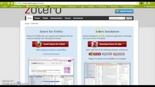 Gambar cover Downloading Zotero