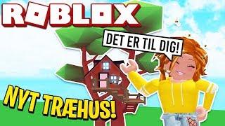 MIN MOR GIVER MIG ET TR-HUS! | Dansk Roblox: Adopt me