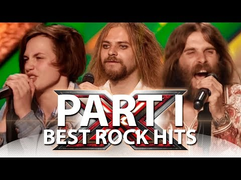 Best Rock Hits On X-Factor Ukraine | Part 1