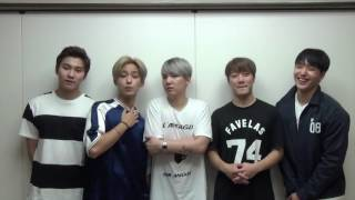 2016 FNC KINGDOM IN JAPAN SPECIAL COMMENT!~FTISLAND~