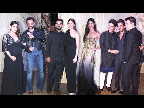 Manish Malhotra's GRAND Birthday Party 2016 Full Video HD - Pregnant Kareena,Shahrukh,Virat Anushka