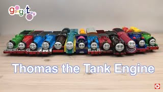 Thomas and friends! Unboxing 12 trains!