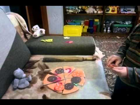 Игра Lets make a pizza