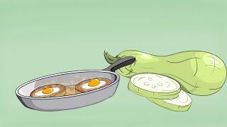 изменил видео. Готовлю Кабачки Теперь Только Так!! Обалденные Жареные кабачки с яйцами- РЕЦЕПТ