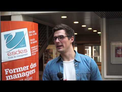 Study in France, study in Lyon : exchange students chose ESDES School of management