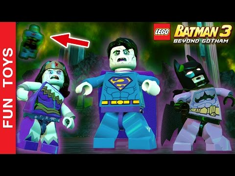 SUPERMAN BIZARRO - TODOS os personagens e Fase da DLC do jogo Lego Batman 3 - Gameplay 👍