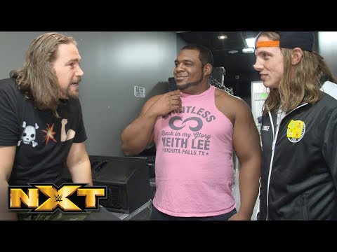 "Kassius Ohno ""welcomes"" Matt Riddle and Keith Lee to NXT: NXT Exclusive, Oct. 31, 2018"