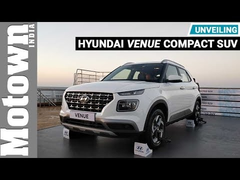 Hyundai VENUE compact SUV | Unveiling on a cruise ship | Motown India
