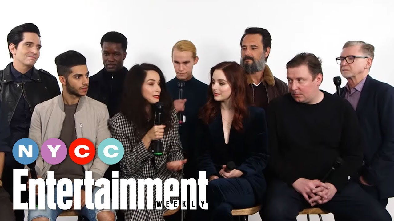 Download Reprisal's Mena Massoud, Abigail Spencer & More On New Show   #NYCC19   Entertainment Weekly