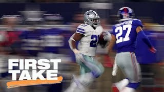First Take reacts to Giants losing to Cowboys in Week 1   First Take   ESPN
