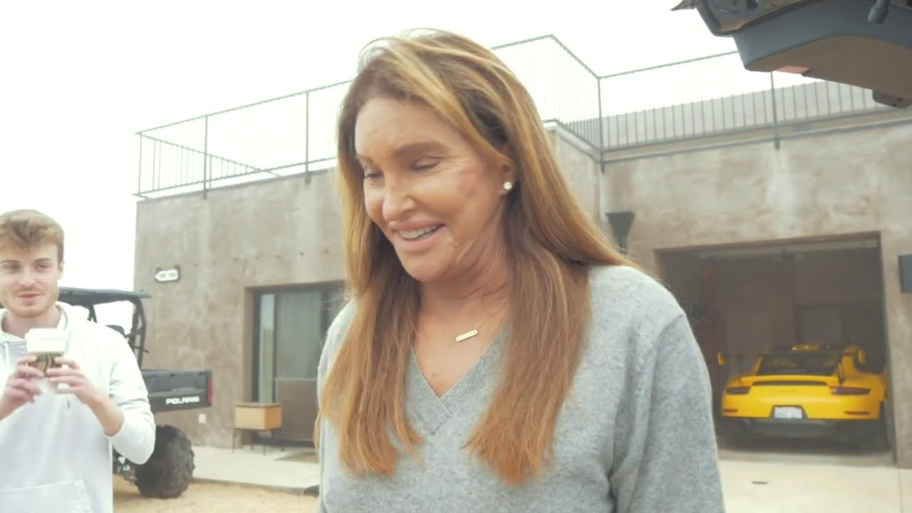 In the Wheel-Well with Caitlyn Jenner