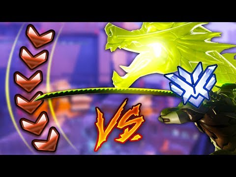 1 Top 500 Player VS 6 Bronze Players! - Who Will Win? [UNREAL OUTPLAYS] - Overwatch VS