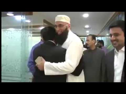 Shaheed Junaid Jamshed Visiting Dubai Islamic Bank In Karachi,Pakistan