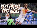 BEST Futsal Free kicks - GOALS ⚽ 2017 ⚽ HD