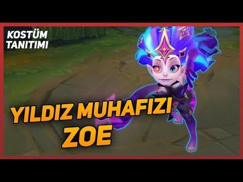 Yıldız Muhafızı Zoe - Kostüm Tanıtımı   League of Legends