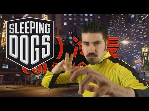 Angry Review Sleeping Dogs