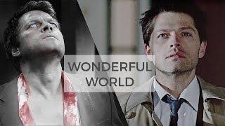 Castiel || (not so) wonderful world