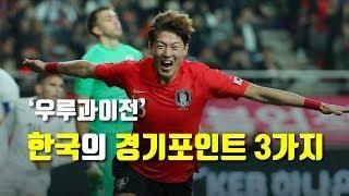 [전술분석] 한국 vs 우루과이 : 우루과이전 중요했던 한국의 3가지 경기포인트