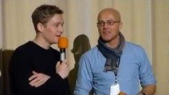 Matthias Schweighöfer Schlussmacher Interview Chemnitz Cinestar Roter Turm 13.01.2013 Teil 1