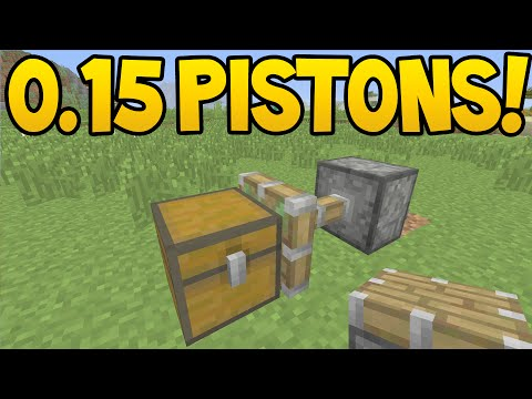 Minecraft Pocket Edition - 0.15.0 Update! - PISTONS Confirmed! /New Feature!
