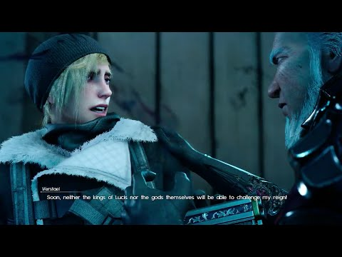 Final Fantasy XV - Episode Prompto - Prompto's Dad Verstael & Prompto's Identity Cutscene