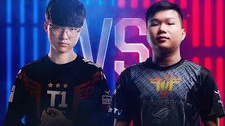 Faker vs Artifact | 1 v 1 Tournament | 2018 All-Star Event | Day 1