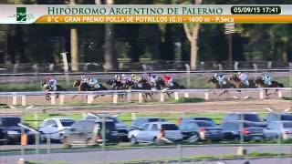 8va GRAN PREMIO POLLA DE POTRILLOS GI 5 09 2015