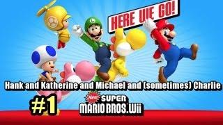 Hank & Katherine & Michael Play Super Mario Bros Wii #1 - NewGang