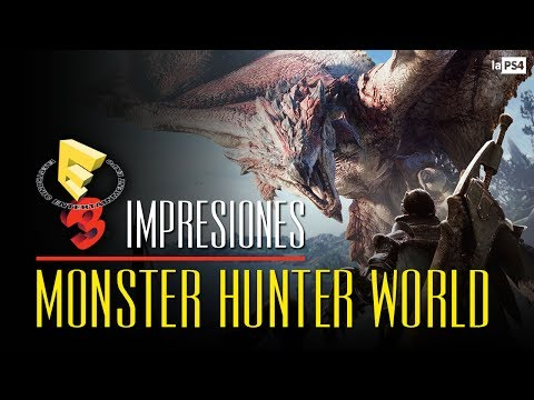 MONSTER HUNTER WORLD: La cacería vuelve a casa tras el E3 2017 | LaPS4