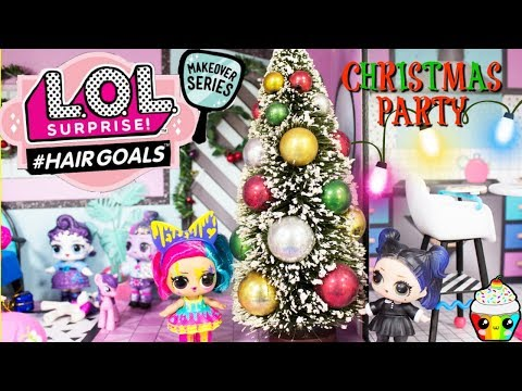 LOL HOUSE Christmas Party with MLP Mane 6 LOL Mane 6 #Hairgoals