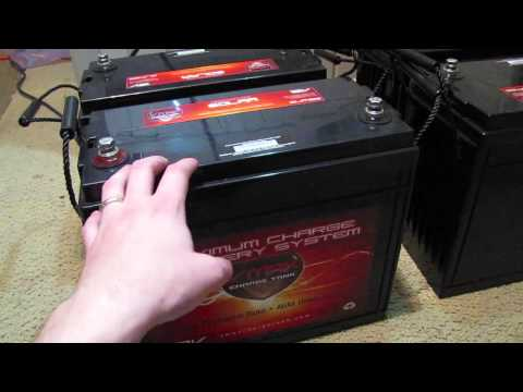 Solar Battery Choice - VMax Charge Tank - Off Grid Kitchen