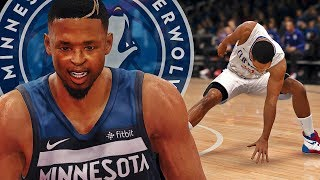 DOUBLE ANKLE BREAKER!! THE HIGHLIGHT OF MY CAREER RUINED! - NBA LIVE 18 THE ONE #6